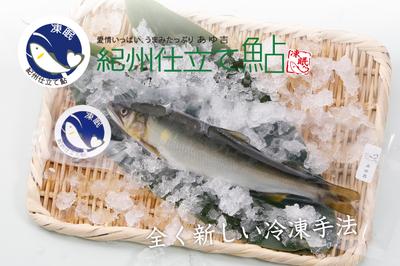 紀州仕立て鮎 凍眠(冷凍)(10尾入)