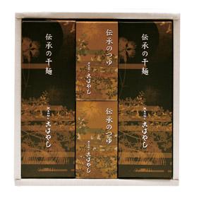 伝承の干麺 つゆセット ざる8枚