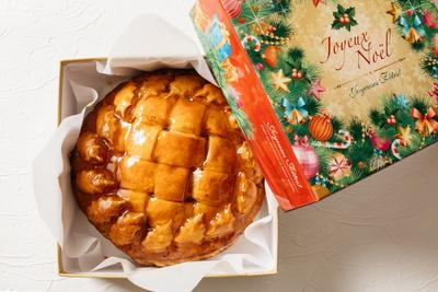 神奈川県産りんご「涼香の季節」のクリスマスアップルパイ