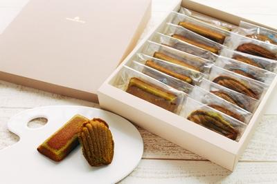 かわさき産はちみつと足柄抹茶の焼き菓子(アソート16個入り)