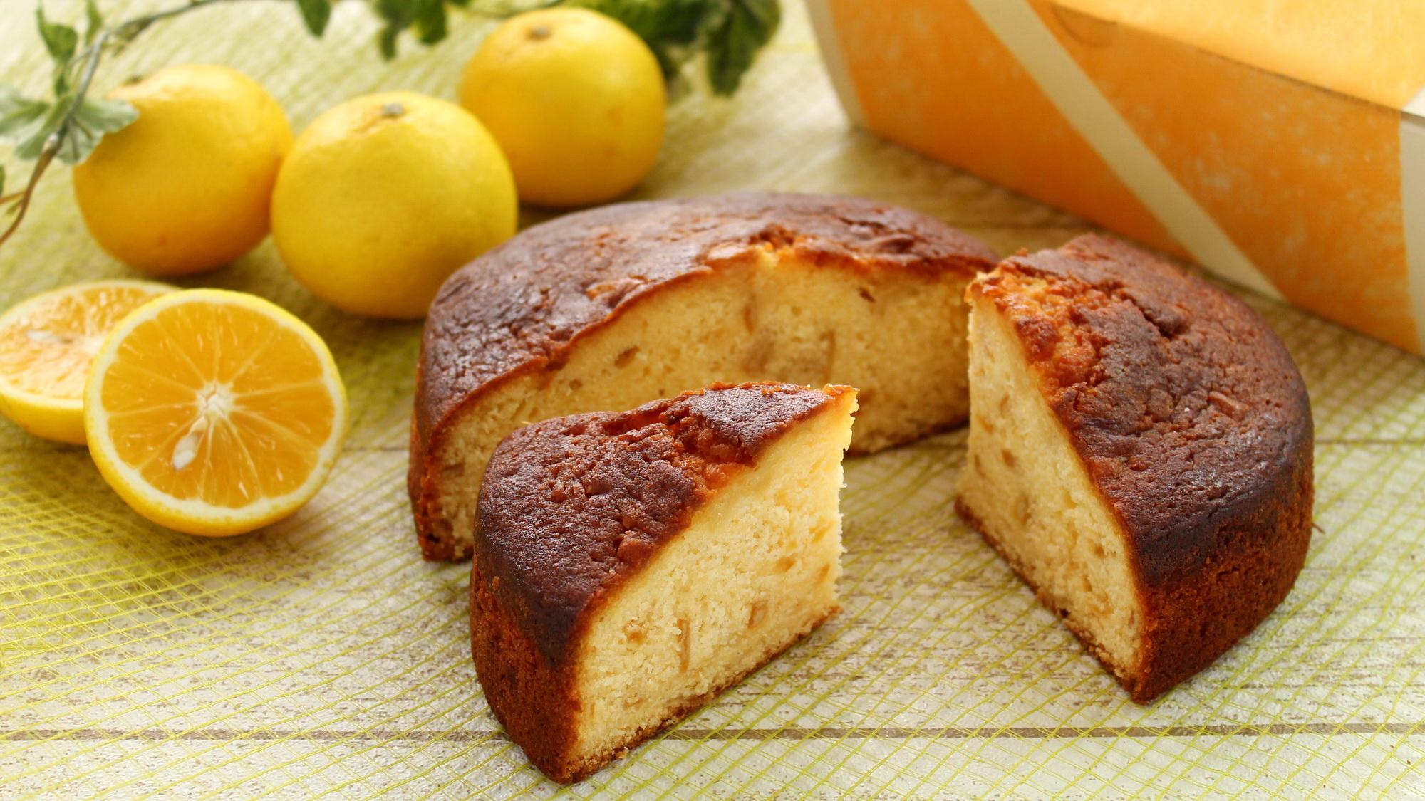 湘南ゴールドのバターケーキ
