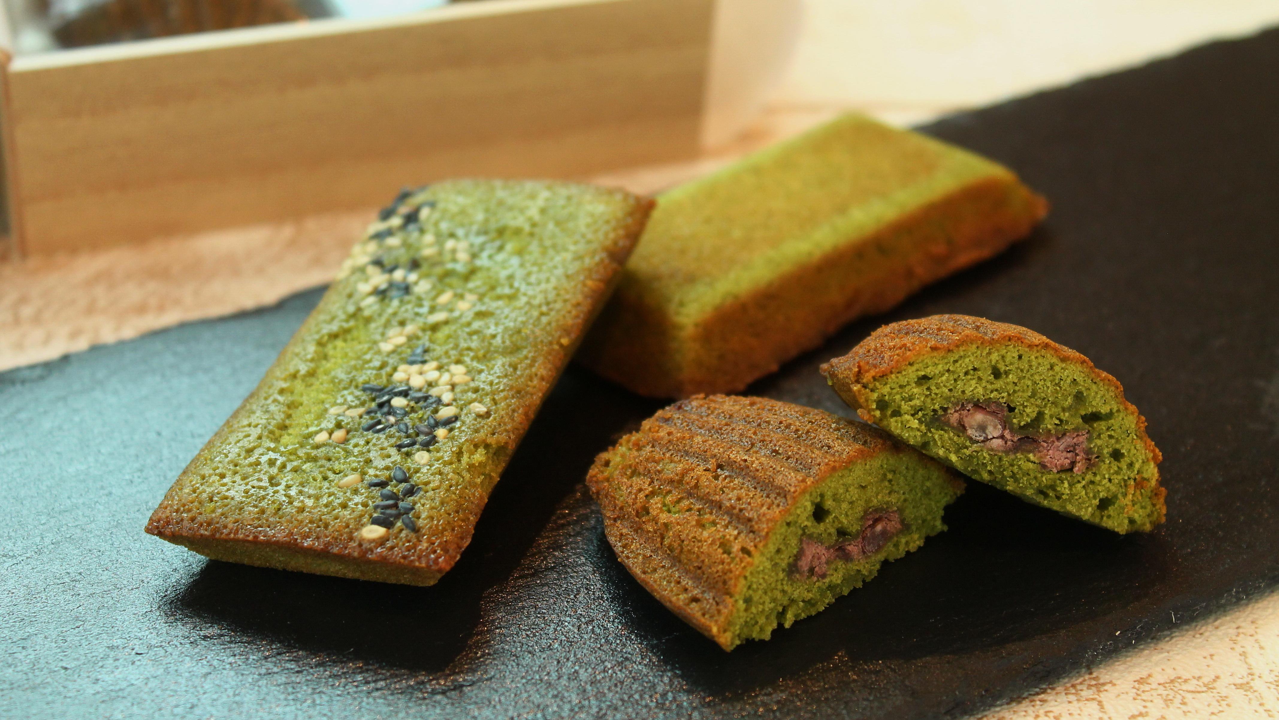 足柄抹茶の焼き菓子