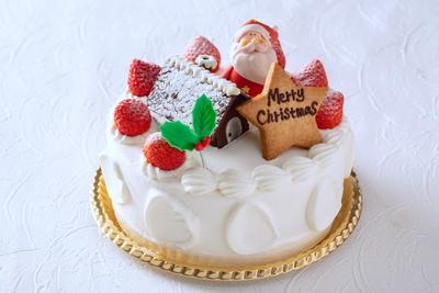 【Xmas2021】苺のショートケーキ(6号)