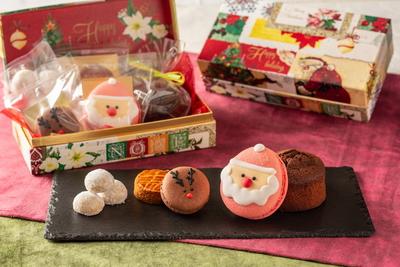 クリスマスマカロンと焼き菓子の詰め合わせ