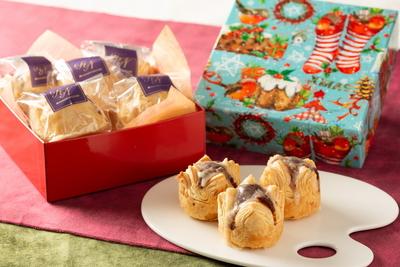 丸ごと和栗のクリスマスマロンパイ