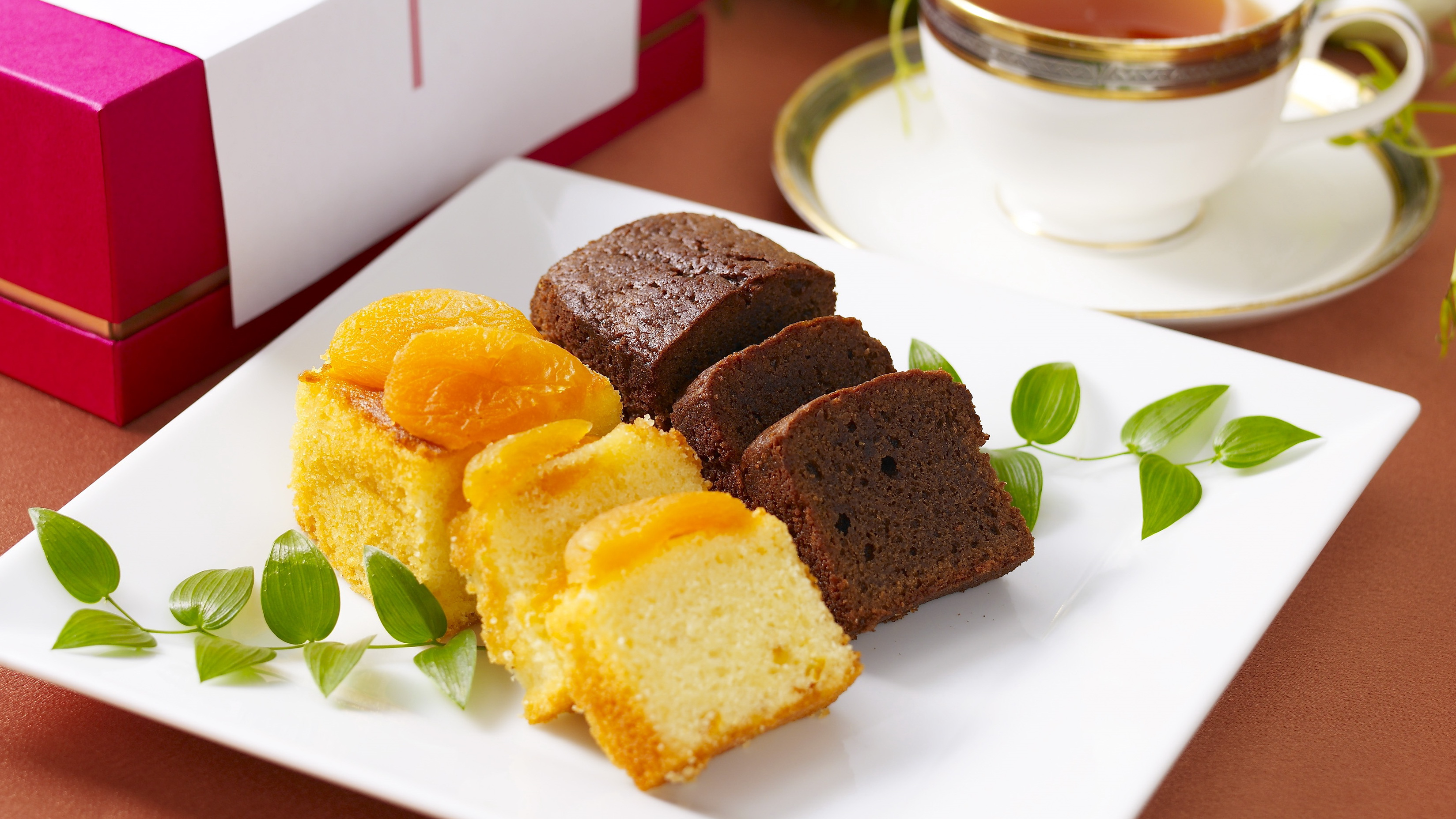 かわさき名産品認定のパウンドケーキ