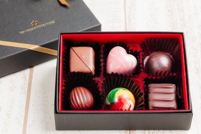 チョコレートアソート(6個入り)