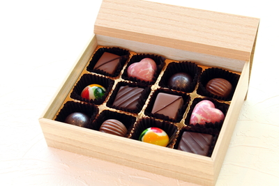 チョコレートアソート(12個入り)
