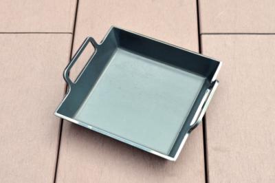 【一生もんの和田鉄板】ソロ鉄板150×150mm(深型・取っ手付)