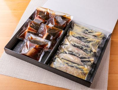銀鱈の煮つけ&西京焼きギフトボックス