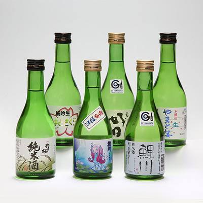 庄内町の地酒「家飲み」セット 夏の厳選地酒セット 300ml×6本