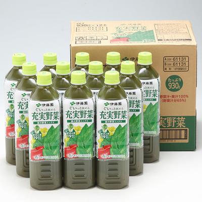 伊藤園 充実野菜 緑の野菜ミックス 930g 12本入箱