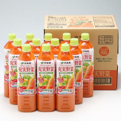 伊藤園 充実野菜 緑黄色野菜ミックス 930g 12本入箱