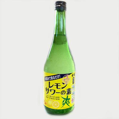 爽金龍 レモンサワーの素 720ml
