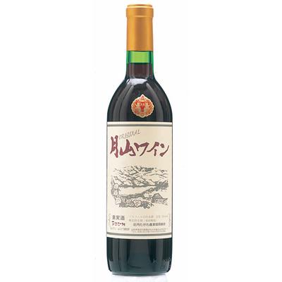 月山ワイン オリジナル 赤(辛口) 720ml