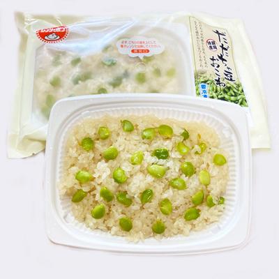 佐徳 だだちゃ豆おこわレンジパック 180g【冷凍便】