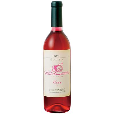 月山ワイン ソレイユ・ルバン ロゼ (やや甘口) 720ml