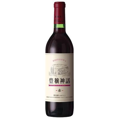 月山ワイン 豊穣神話 赤 ヤマソービニオン(辛口) 720ml