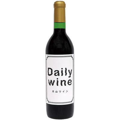 月山ワイン デイリーワイン赤 辛口