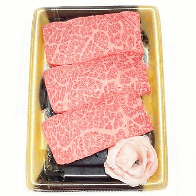 森畜産 山形牛特上ロースステーキ 3枚 【冷凍便】