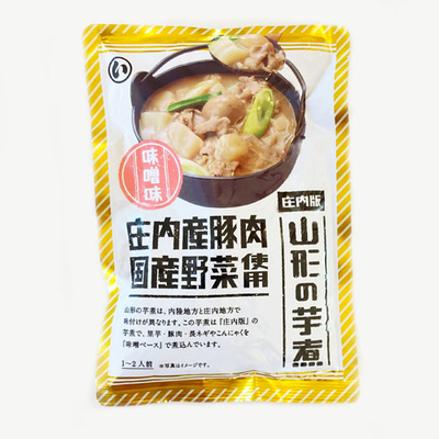 まるい 山形の芋煮庄内版 味噌味 1~2人前