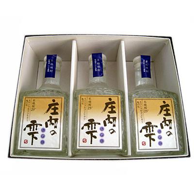 オリジナル焼酎「庄内の雫」300ml×3本セット