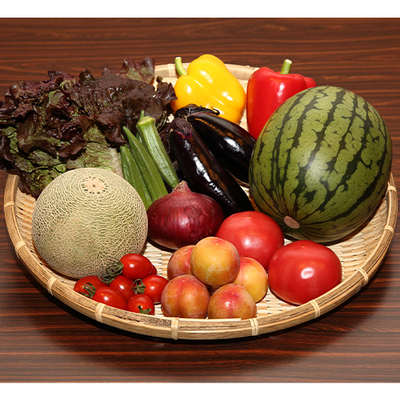 季節の野菜とフルーツのプレミアムセット