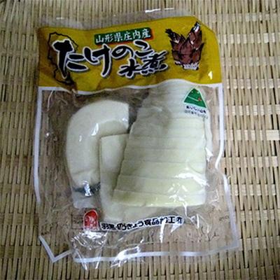 羽黒・のうきょう食品加工 山形県庄内産たけのこ水煮 180g