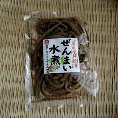 羽黒・のうきょう食品加工 国産原料使用 ぜんまい水煮 80g