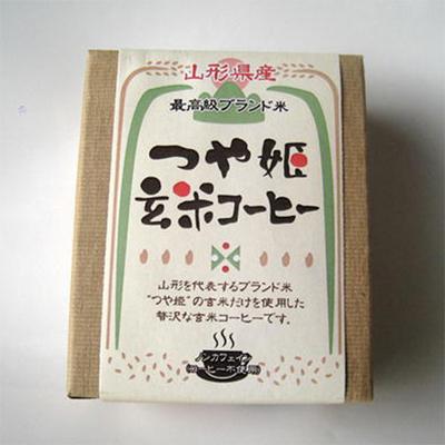 山形県産 つや姫玄米コーヒー ドリップ式15g