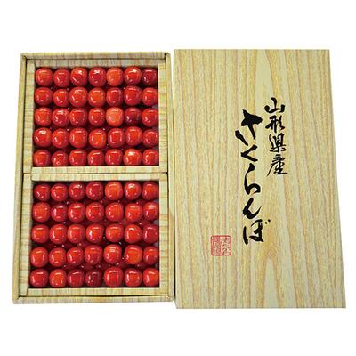 【期間限定】庄内産さくらんぼ 佐藤錦 2Lサイズ 1kg 並べ詰め ギフト用