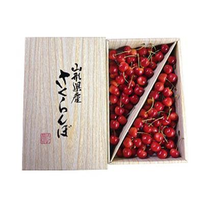 【期間限定】庄内産さくらんぼ 紅秀峰 2Lサイズ 1kg バラ詰め ギフト用