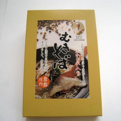 土岐正富のむきそば ふかひれ入り レトルト 箱入(170g×2袋)