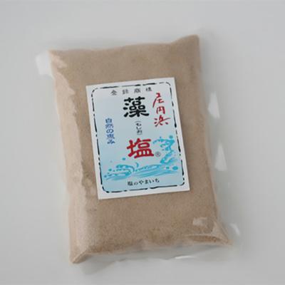 塩や勝じ 庄内浜藻塩 240g
