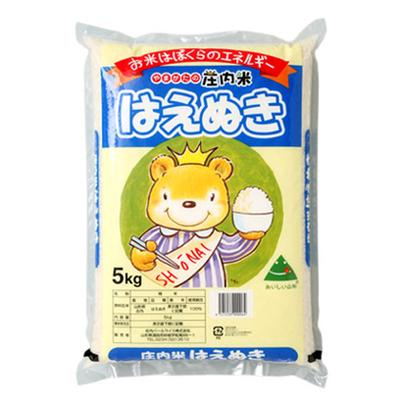 令和2年産 はえぬき5kg 山形の庄内米 お米はぼくらのエネルギー