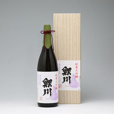 純米大吟醸 鯉川 亀の尾 1800ml