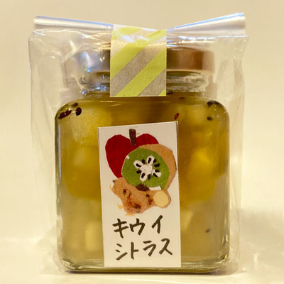 はらぺこファーム 生姜たっぷりあったまっ茶 キウイシトラス 100g