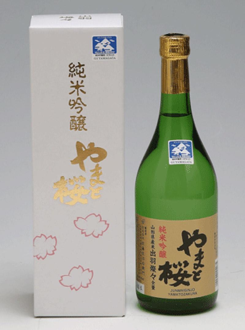 純米吟醸 やまと桜 出羽燦々