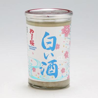 純米酒 やまと桜 白い酒 180ml