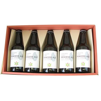 山形県産米『つや姫』使用ビール プリンセスエール5本(ギフト箱入)