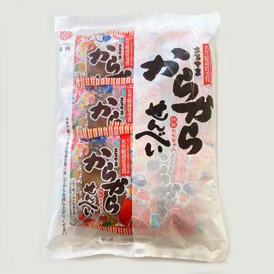 庄内伝統駄菓子からからせんべい 6個入