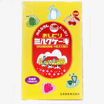 日本製乳 おしどりミルクケーキ 5種類つめあわせ