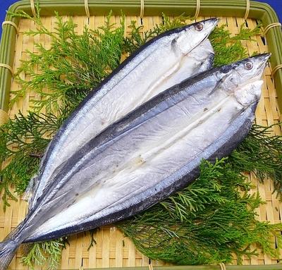 北海道産 開さんま(灰干加工)2尾