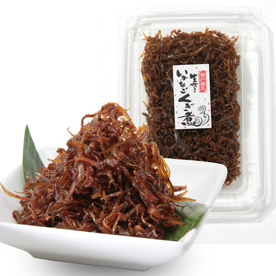 【包装対応】 生炊き いかなごくぎ煮  300g〔生姜風味〕