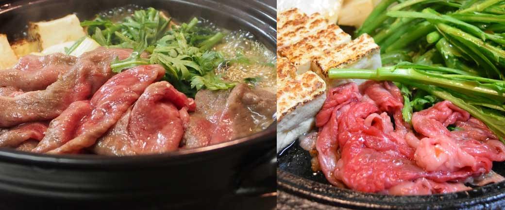 松阪肉のすき焼き *イメージです。