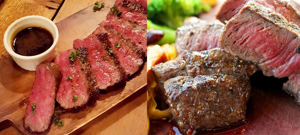 松阪肉のステーキ *イメージです。