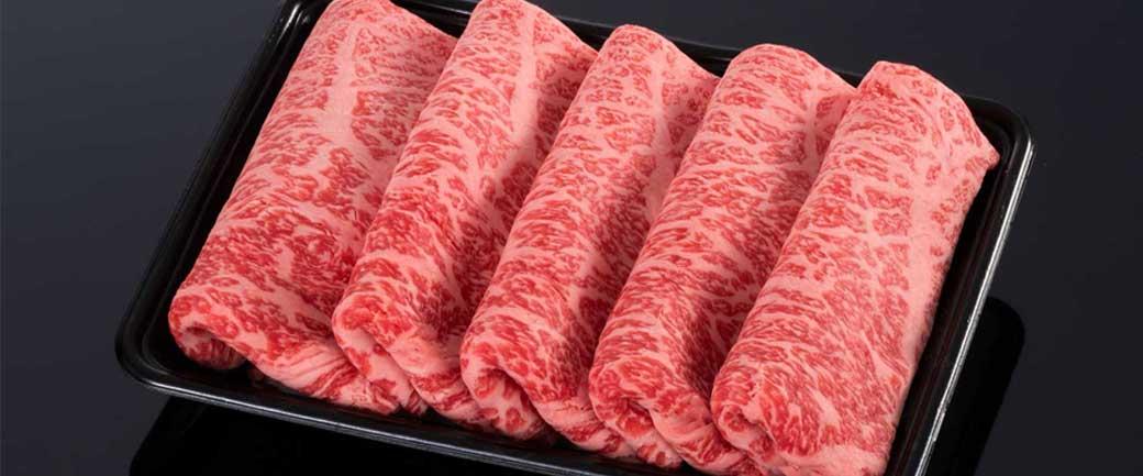 【上品な風味】松阪牛ロースすき焼き用の松阪肉【霜降り】