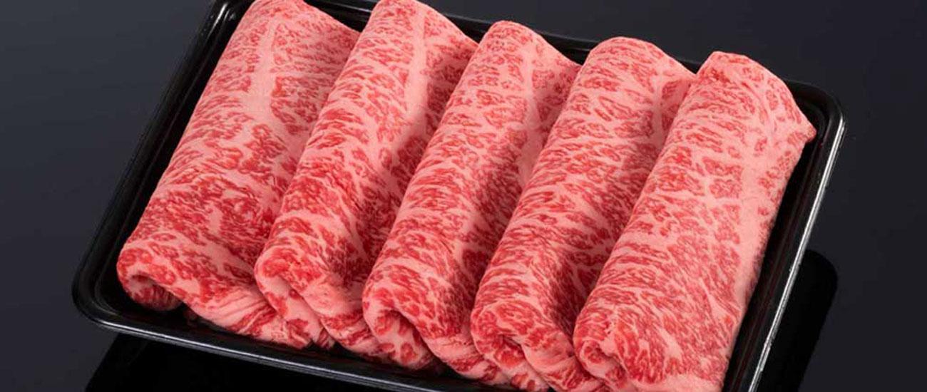 (冷凍)【上品な風味】松阪牛ロースすき焼き用【500g・霜降り】