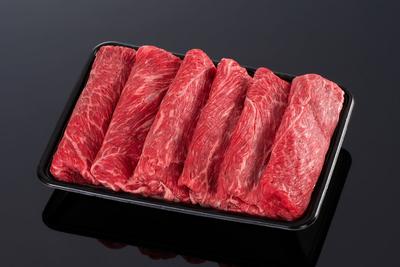 (冷凍)【上質な赤身】松阪牛カタすき焼き用【適度な霜降り・500g】