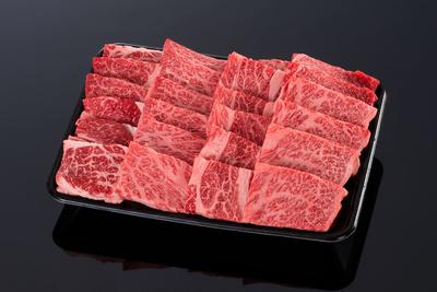 (冷凍)【濃厚な味わい】松阪牛 肩ロース焼肉用【霜降り・500g】
